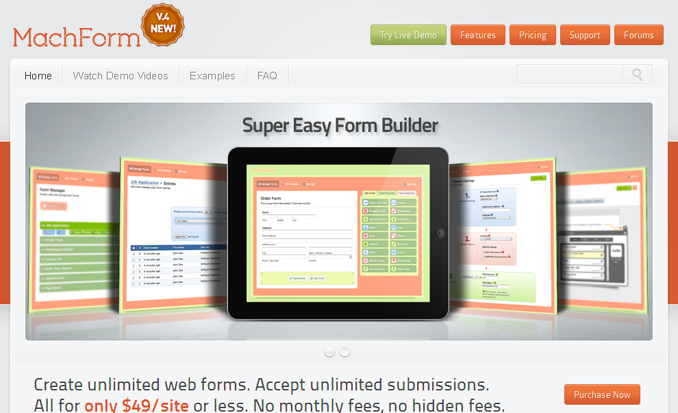 MachForm – PHP HTML Form Builder