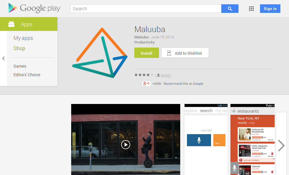 Maluuba - Android Apps on Google Play