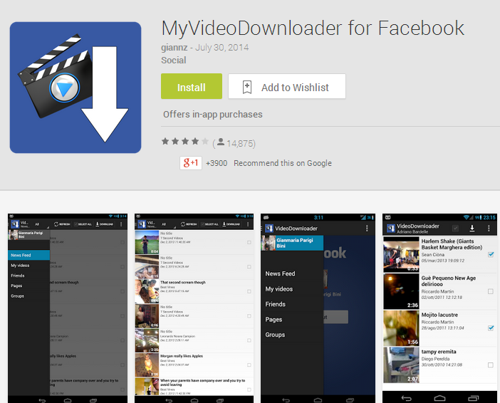MyVideoDownloader for Facebook - Android Apps on Google Play