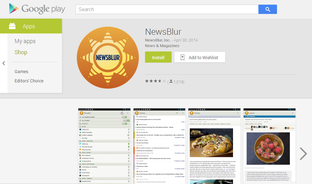 NewsBlur - Android Apps on Google Play