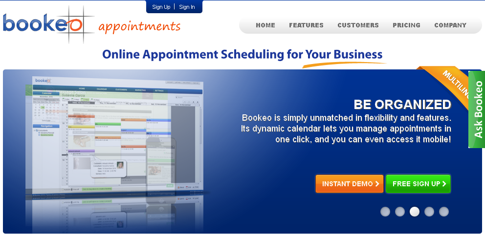 Online Appointment Scheduling Software I appointments I Bookeo_com
