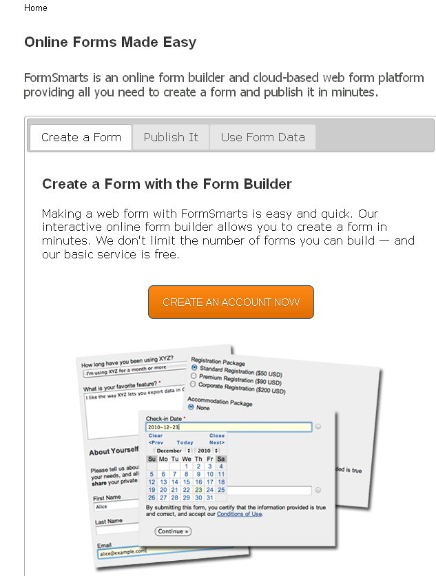 Online Form Builder - Create Forms Now with our Easy Online Form Builder - FormSmarts