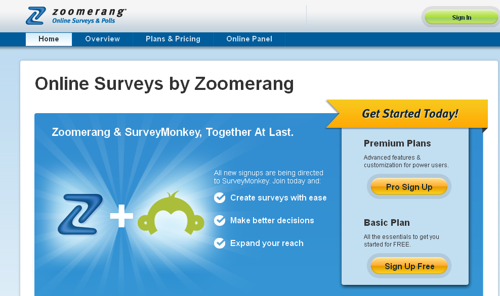 Online Survey Software - Create Online Surveys I Zoomerang