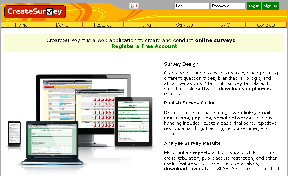 Online Surveys - Create Survey™
