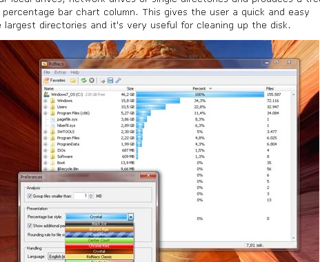 RidNacs_ Disk Space Usage Analyzer I Freeware - SplashSoft_de