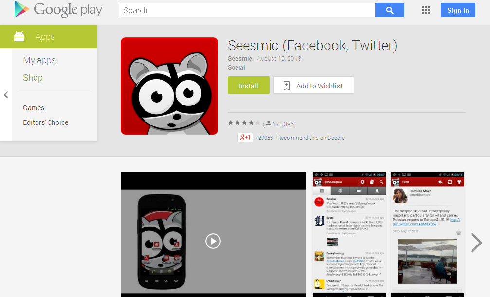 Seesmic (Facebook, Twitter) - Android Apps on Google Play