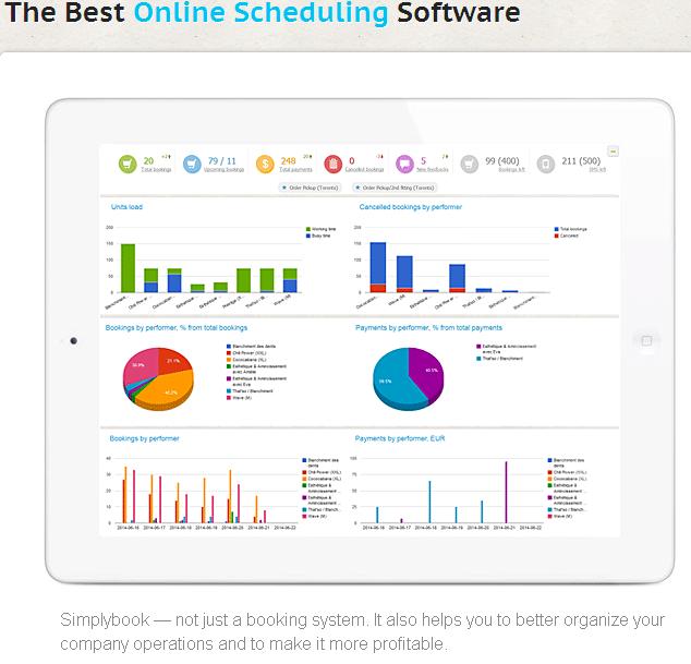 online scheduling and appointment booking software