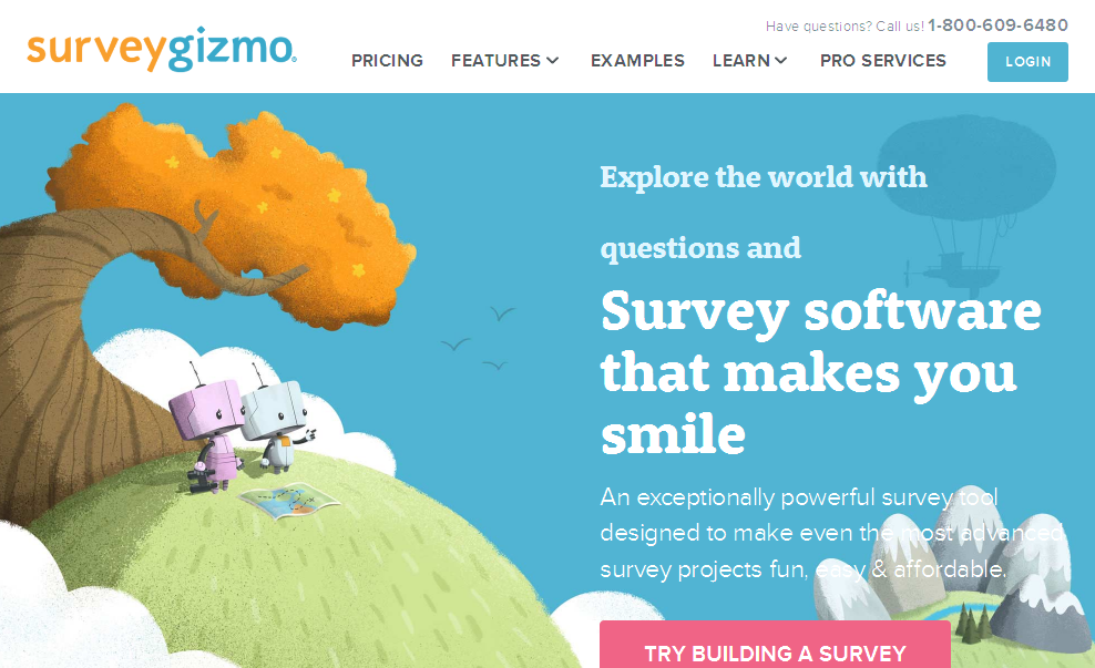 SurveyGizmo I Professional Online Survey Software & Form Builder