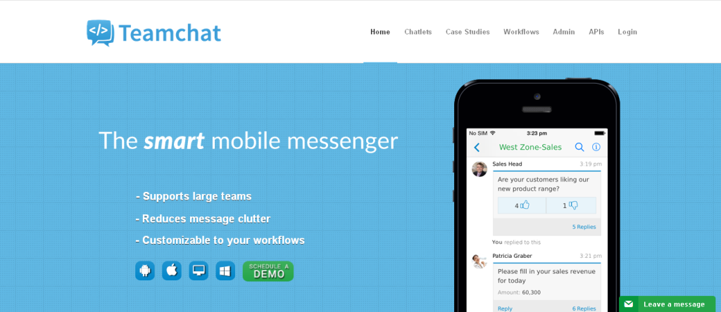 Teamchat l Enterprise Messaging & Business Chat App