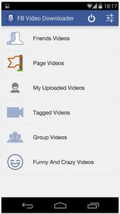 Top 5 Android Apps For Downloading Facebook Videos