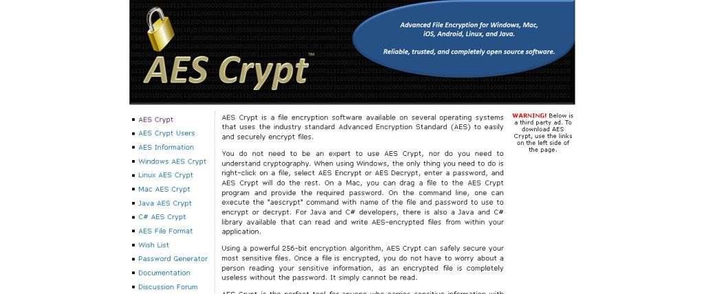 AES Crypt - Advanced File Encryption