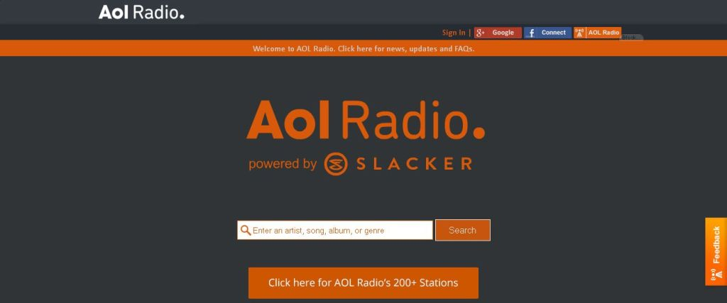 AOL Radio - Listen to Free Online Radio - Free Internet Radio Stations and Music Playlists