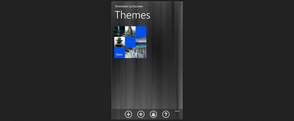 Animated Lockscreen I Windows Phone Apps+Games