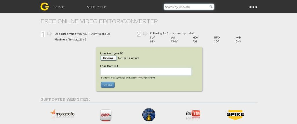 Cellsea Free Online Video Editor_Converter
