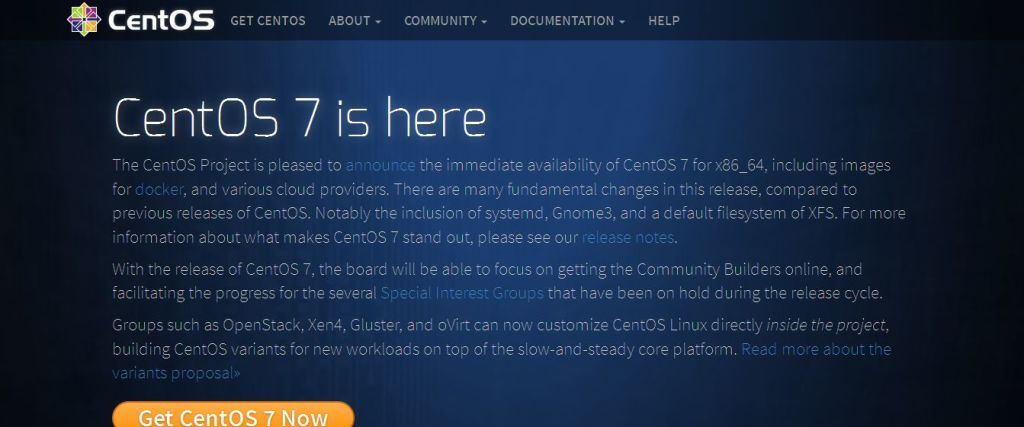 CentOS Project linux open source