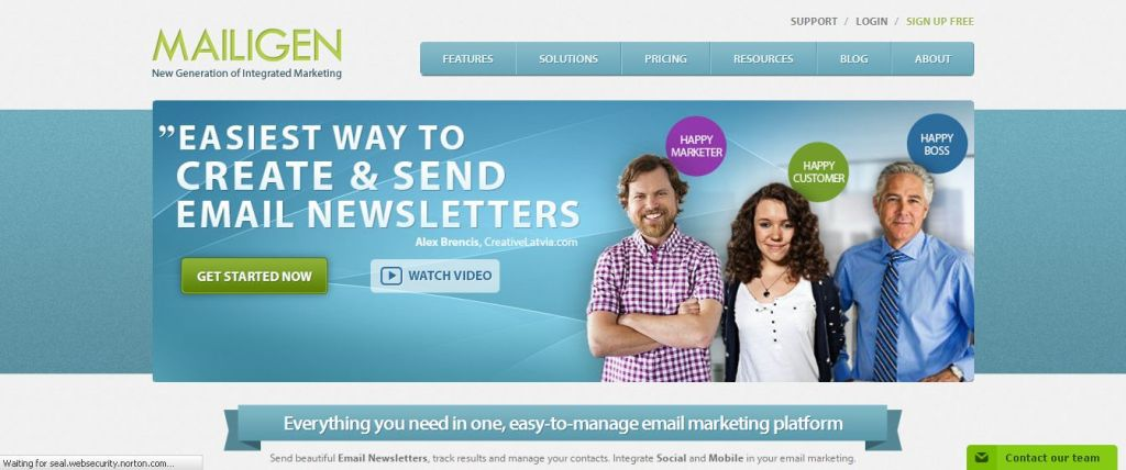 Email Marketing I Email Marketing Tools I Newsletter Software - Mailigen