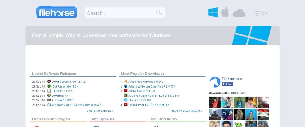 FileHorse_com _ Free Software Download for Windows