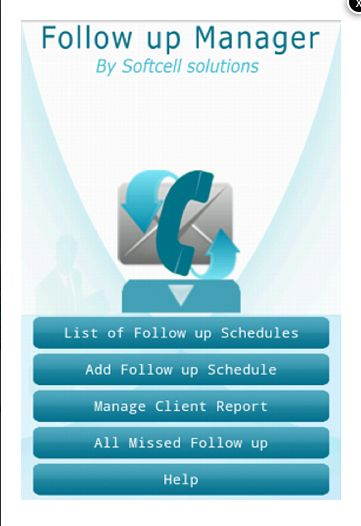 Follow up Manager for Android - Free download and software reviews