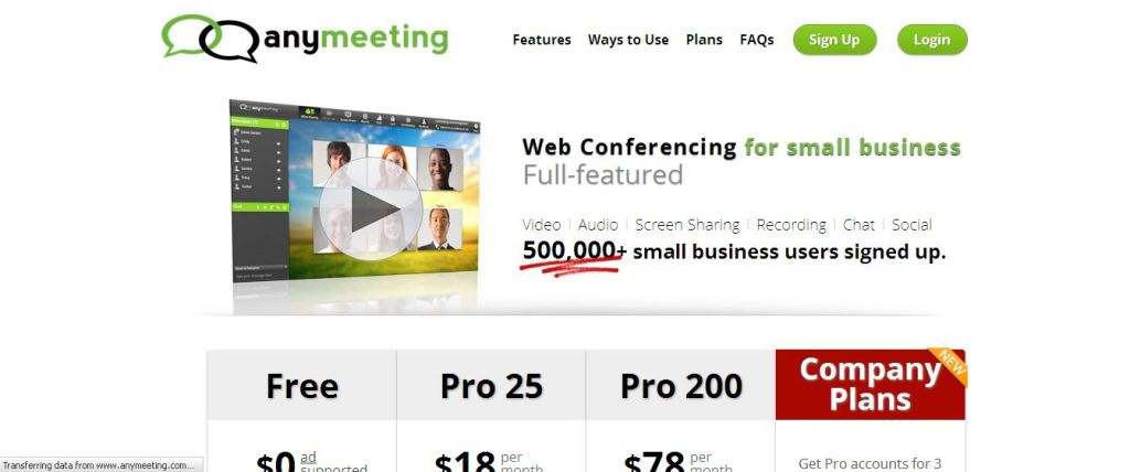 online web meeting tools Listed below are six most popular free web conferencing tools, which will help a lot of users would like to conduct online conference easily.
