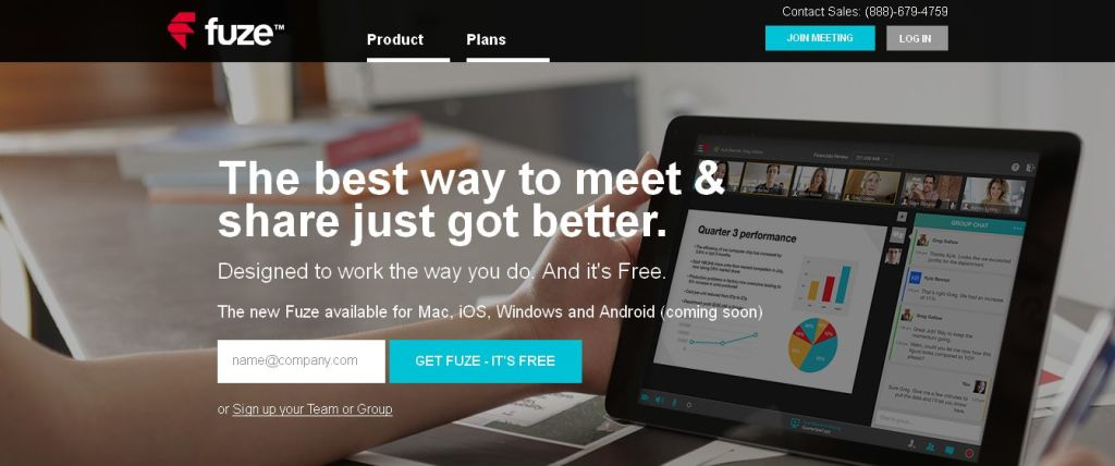 Fuze (formerly FuzeBox) I Free Online Meeting Services
