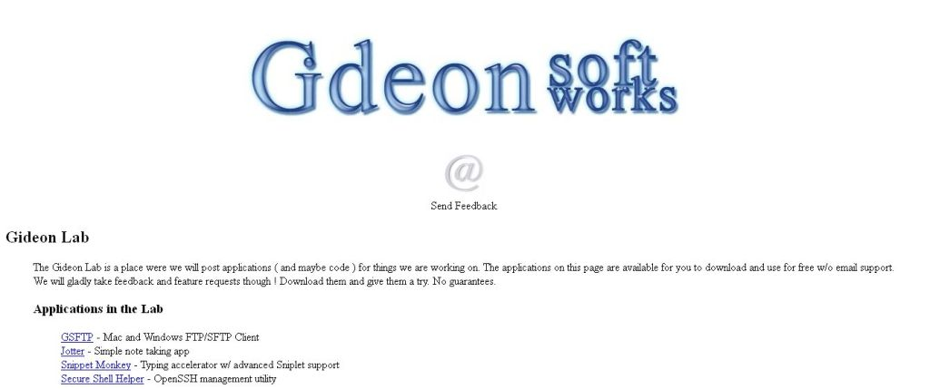 Gideon Labs code manager