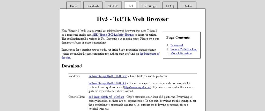 Html Viewer 3 - Tkhtml3 Web Browser