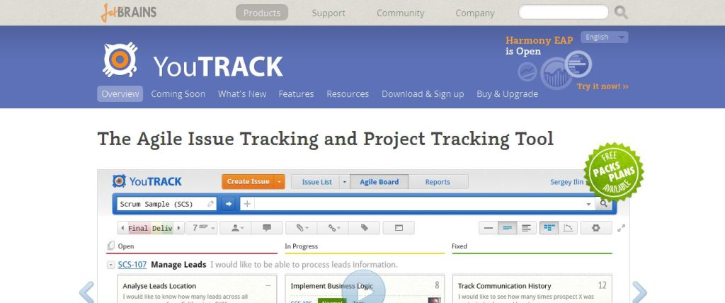 Issue Tracker and Agile Project Management Tool I YouTrack