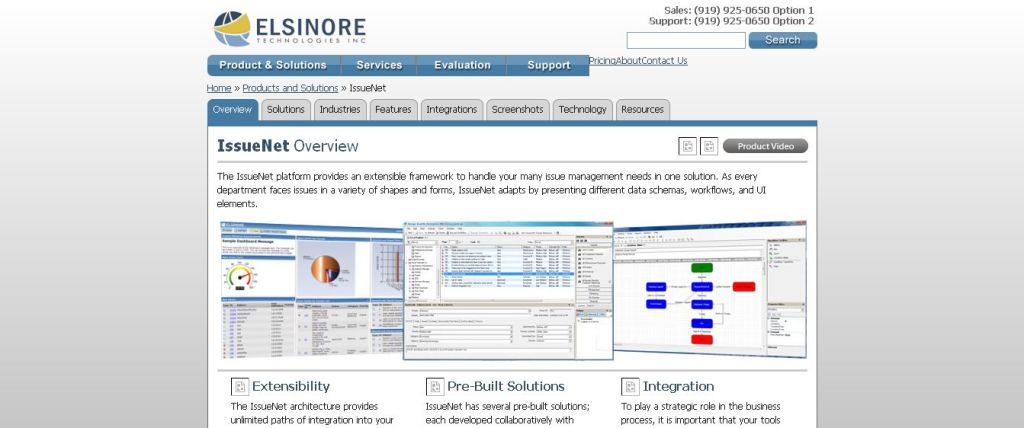 IssueNet - Elsinore Technologies Issue and Incident Management Software