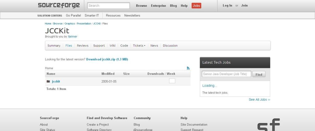 JCCKit - Browse Files at SourceForge_net