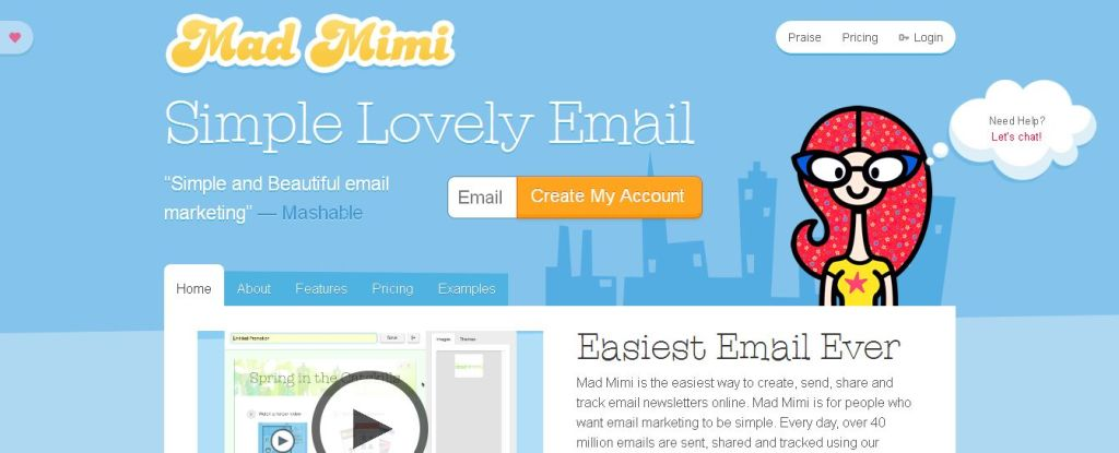 Mad Mimi Email Marketing _ Create, Send, And Track HTML Email Newsletters