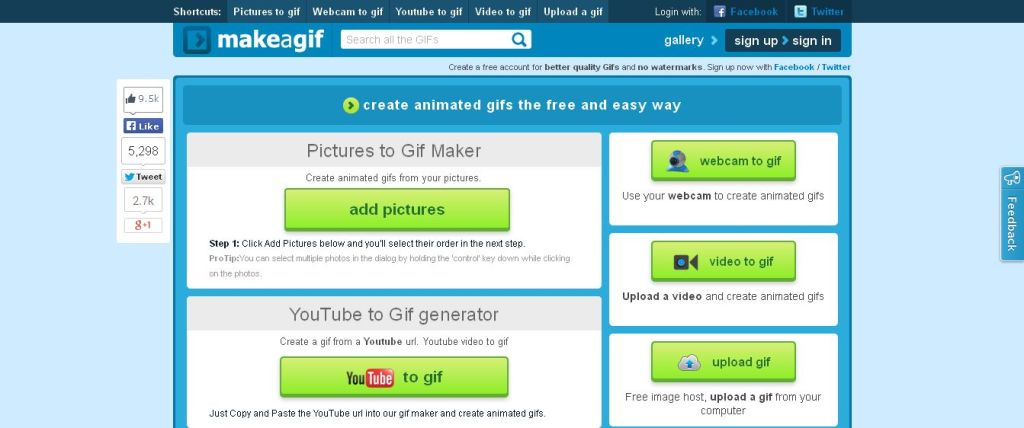 Top 10 websites to create animated gifs for free make a gif animated gifs maker free gif creator online negle Gallery