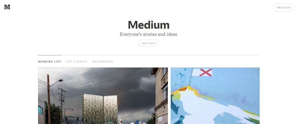 Medium free website