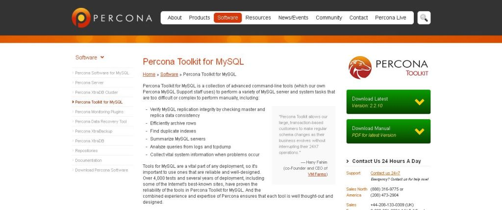 MySQL Tools & Management Software to Perform System Tasks by Percona