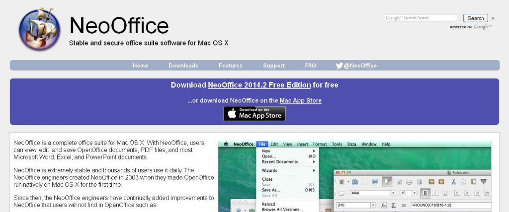 NeoOffice - Office suite for Mac OS X