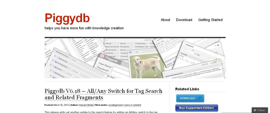 Piggydb I helps you have more fun with knowledge creation