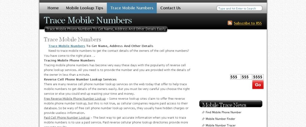 Cell phone dating numbers