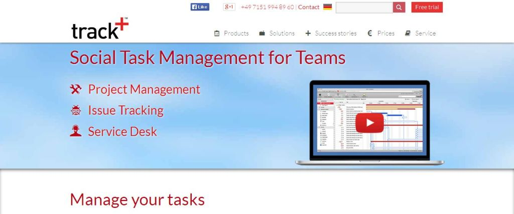 Task Management Software - Track+