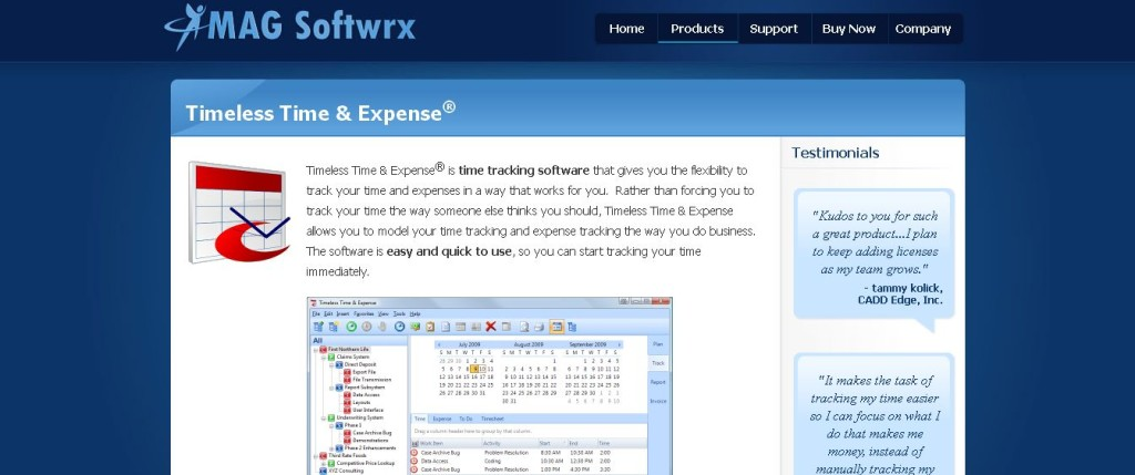 Time Tracking, Billing and Invoicing Software - Timeless Time & Expense