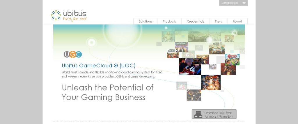 Ubitus Game Cloud