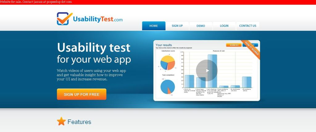 UsabilityTest_com = Remote usability test for your web app