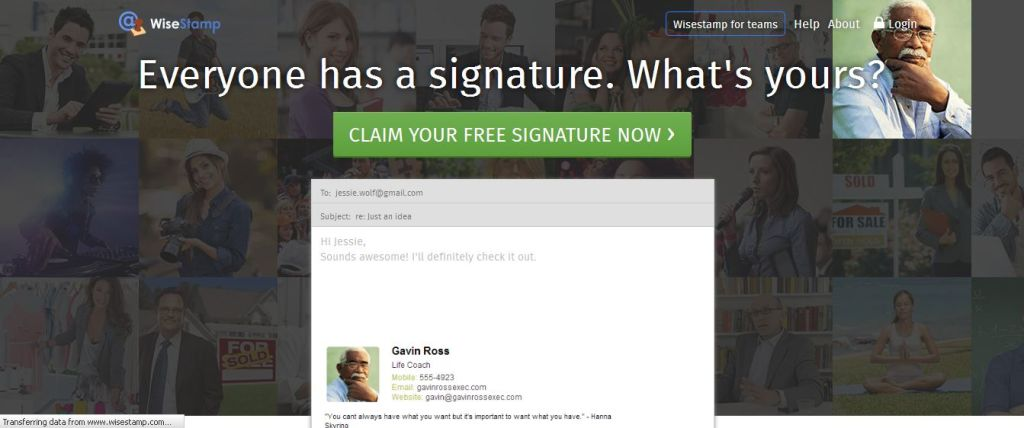 WiseStamp Email Signatures The Best Email Apps for You