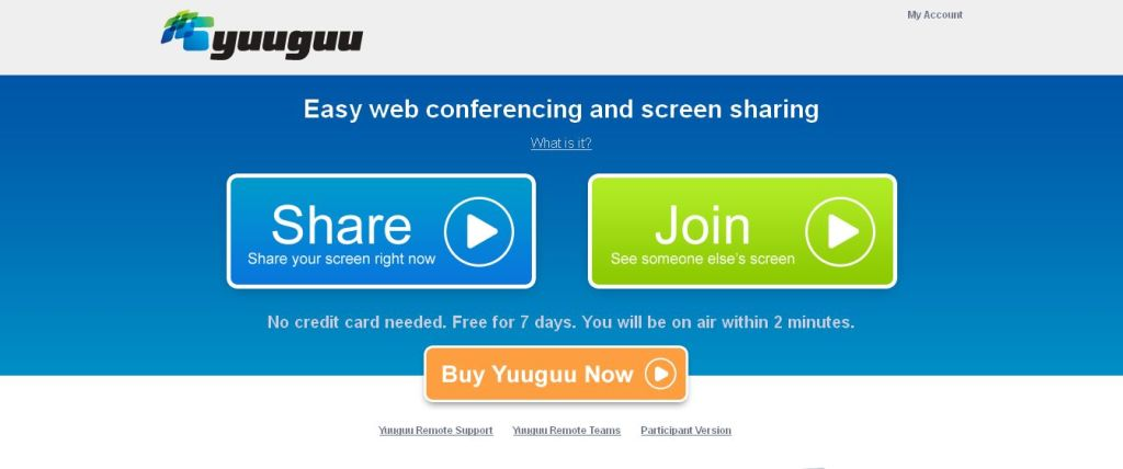 Yuuguu I Easy web conferencing and screen sharing