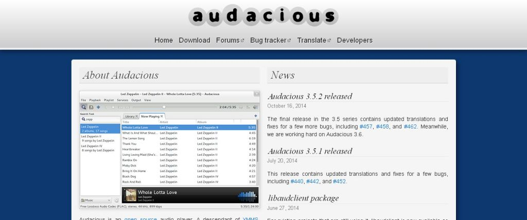 Audacious - An Advanced Audio Player