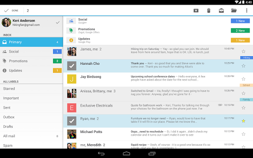 Gmail Android Email client