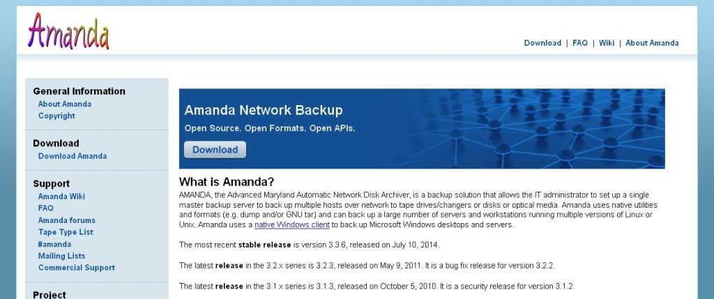 Amanda Network Backup_ Open Source Backup for Linux, Windows, UNIX and OS X