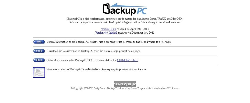 BackupPC_ Open Source Backup to disk