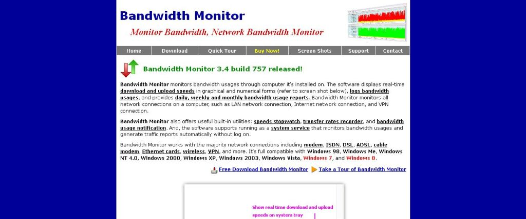 Bandwidth Monitor - Network Bandwidth Monitor Software