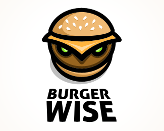 Burger Wise logo design