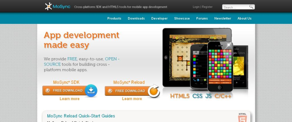 Create native mobile apps for multiple platforms │ HTML5_JavaScript and C++ developer tools