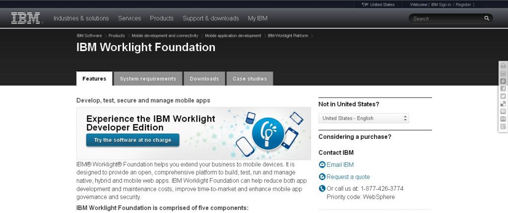 IBM Worklight Foundation